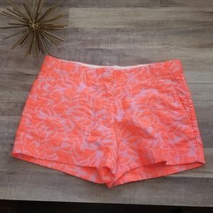 J Crew Crewcuts Girls Coral Pink Shorts Size 12